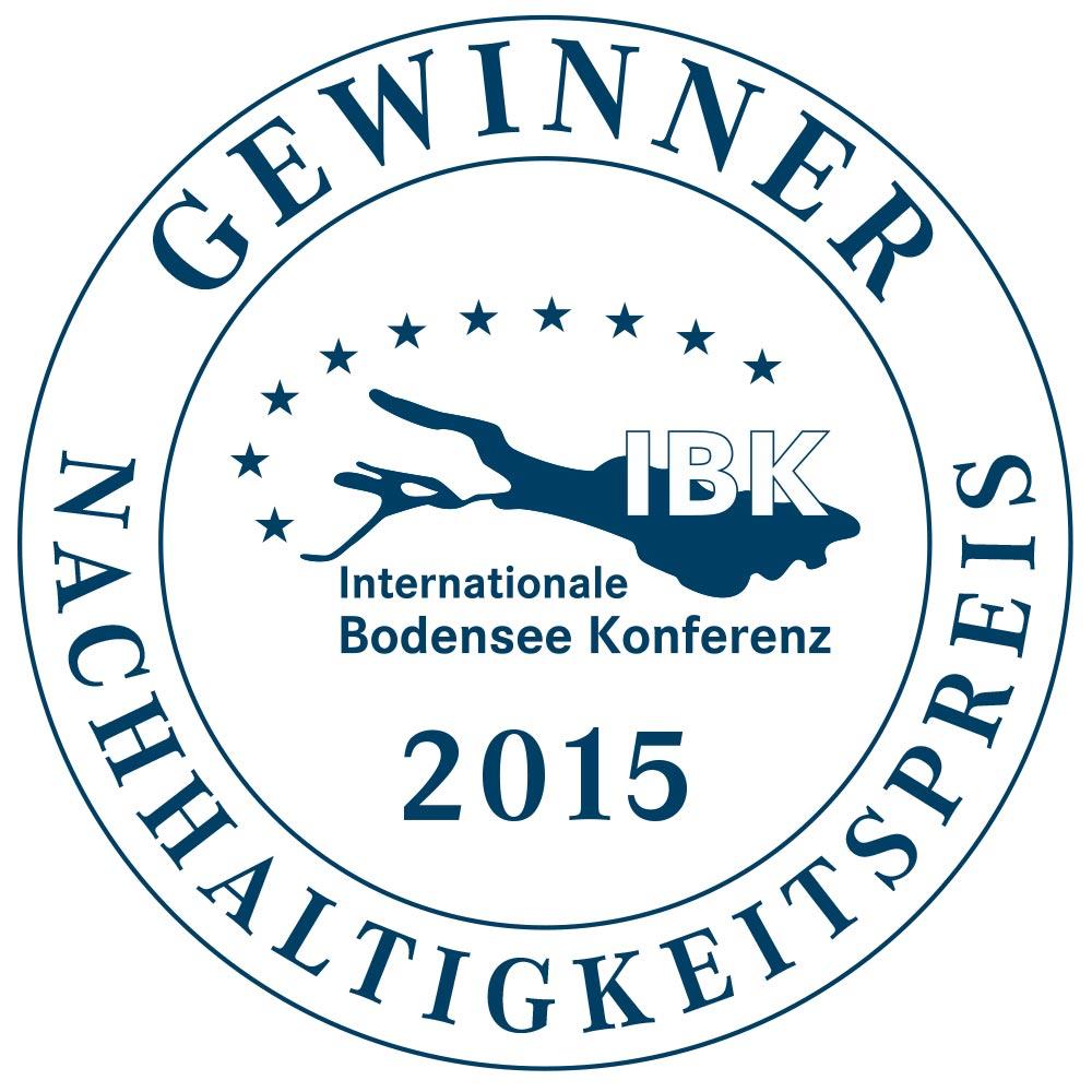 Nachhaltigkeitspreis Internationale Bodenseekonferenz 2015